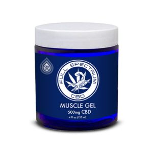 CBD Muscle Gel | 4 Fl oz. (120 ml) | 500 mg